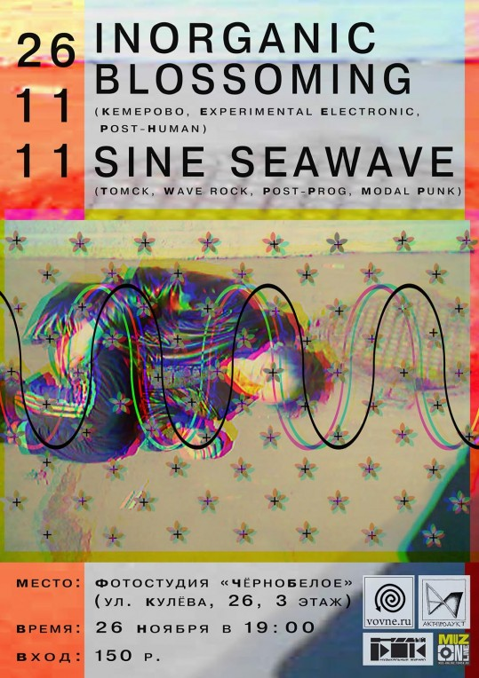Inorganic Blossoming & Sine Seawave